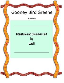 Gooney Bird Greene Book Unit with Literary and Grammar Activities