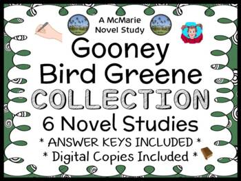 Gooney Bird Greene COLLECTION (Lois Lowry) 6 Novel Studies  (174 pages)
