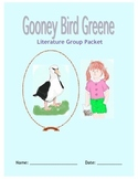 Gooney Bird Greene Literature Circle Packet