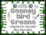 Gooney Bird Greene (Lois Lowry) Novel Study / Comprehension (24 pages)