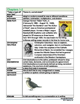 Gooney Bird Greene Novel Study Pack