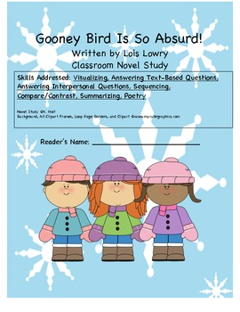 Gooney Bird Is So Absurd Novel Study
