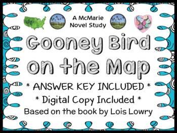 Gooney Bird on the Map (Lois Lowry) Novel Study / Reading Comprehension