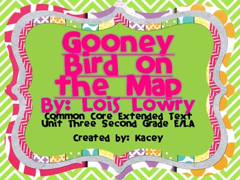 Gooney Bird on the Map by: Lois Lowry