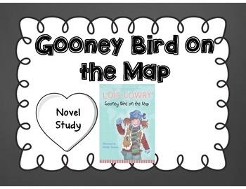Gooney Bird on the Map by Lois Lowry Novel Study