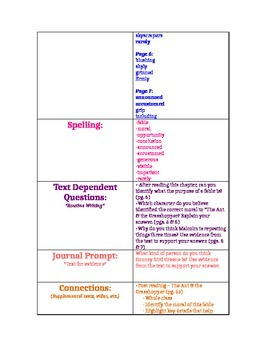 Gooney the Fabulous CCSS Teaching Guide