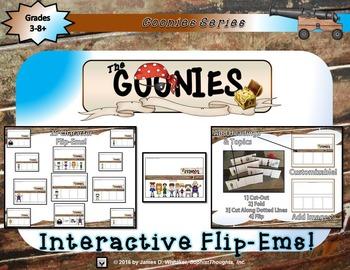 Goonies Film Character Analysis Flip-Ems