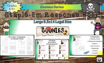 Goonies Film Character Analysis Staple-Em Book