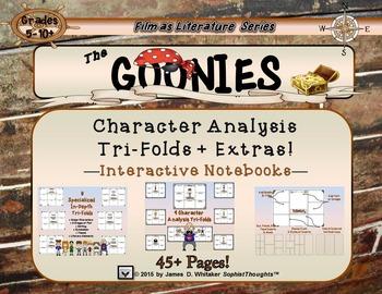 Goonies Film Character Analysis Tri-Folds