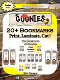Goonies Film Character Bookmarks and Hang-Ems
