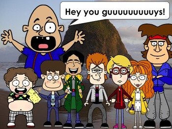 Goonies Inspired Clip Art Collection