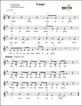 Goop - Kid's Day Song and Lesson Plan