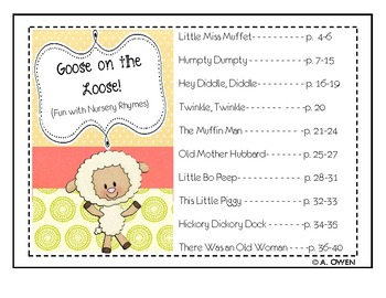 Goose on the Loose (Fun with Nursery Rhymes)