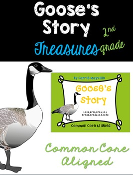 Goose's Story: Treasures 2nd Grade: Common Core Aligned Activities