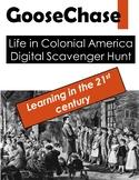 GooseChase: Life in Colonial America Digital Scavenger Hunt