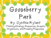 Gooseberry Park by Cynthia Rylant: Character, Plot, Setting