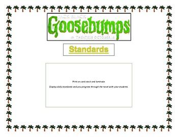 Goosebumps Deep Trouble_Entire Novel Unit