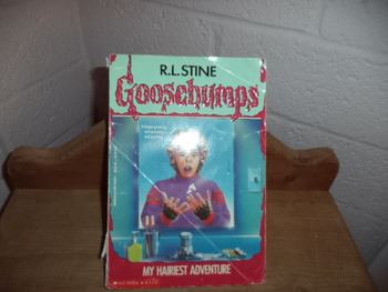 Goosebumps My Hairiest Adventure ISBN 0-590-48350-1
