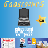 Goosebumps Movie Guide | Questions | Worksheet (PG - 2015)
