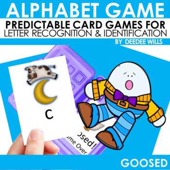 Goosed! Nursery Rhyme Memory and ABC Game-Editable
