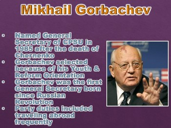 Gorbachev and Yeltsin Managing Reform and Collapse PowerPoint Presentation