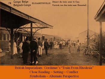 "Gordimer's ""Train From Rhodesia"" Close Reading, Setting"