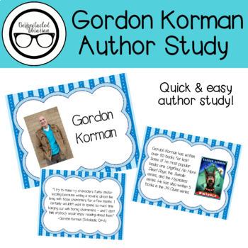 Author Study: Gordon Korman