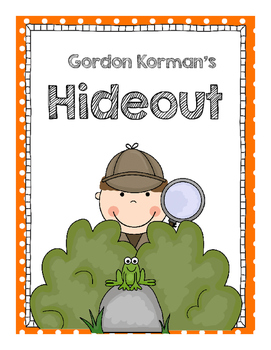 Gordon Korman's Hideout, a Swindle Mystery