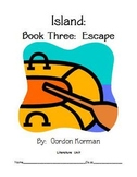 "Gordon Korman's ""Island - Book Three: Escape"" - Literature Unit"