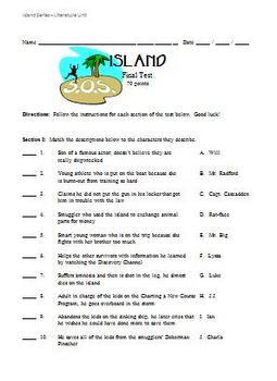 "Gordon Korman's ""Island"" Complete Series - Final Test"
