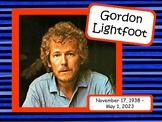 Gordon Lightfoot: Musician in the Spotlight