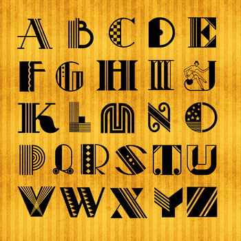 Gorgeous Ornate Alphabet in 3 Versions