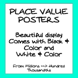 Gorgeous Place Value Poster Set