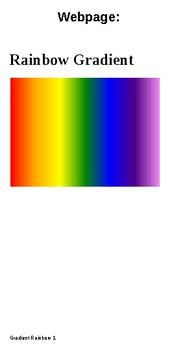 Gorgeous Rainbow Gradients in HTML