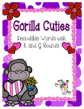 Gorilla Cuties: Decodable Words with K and G Sounds