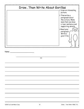 Gorilla (Draw Then Write)