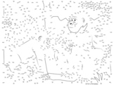 Gorilla Extreme Dot-to-Dot / Connect the Dots Activity