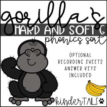 Gorilla G (Soft and Hard G Sort)