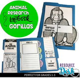 Gorilla Research Project - A Zoo Animal Research Lapbook