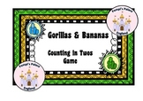 Gorillas & Bananas Counting in Twos Game