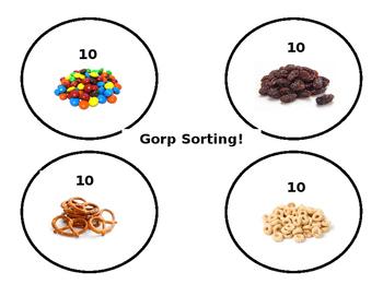 Gorp Sorting Mat