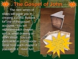 Gospel of John Comic Strip Template and Fold-able Template