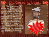 Gospel of Luke Comic Strip Template and Fold-able Template