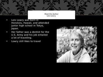 Gossamer by Lois Lowry PPT