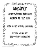 Gossamer comprehension questions and answers