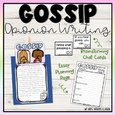 Gossip Essay Writing & Activities