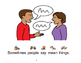 Gossip/Rumors Social Story