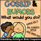Gossip and Rumors Fan and Pick or Scoot Activity