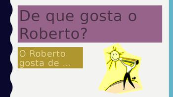Gostar de Actividades Portuguese PowerPoint