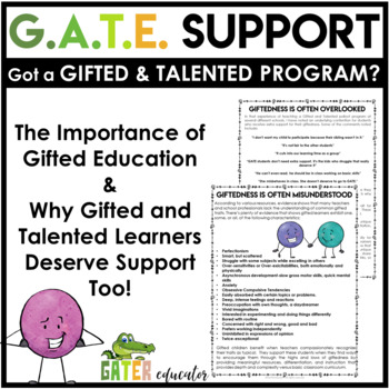 Gifted and Talented - Got A GATE Program?